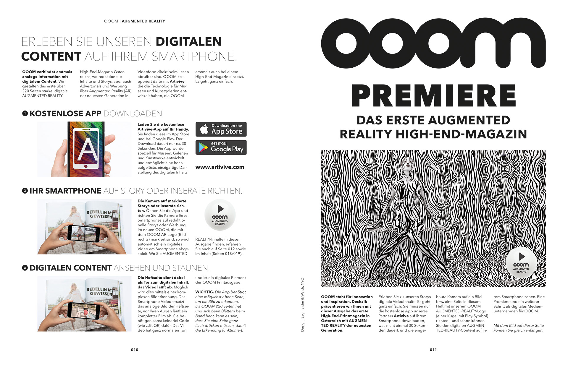 AUGMENTED REALITY ooom magazine