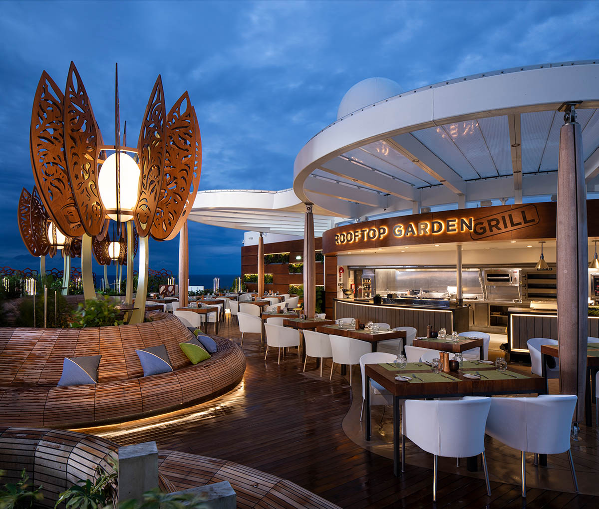 Rooftop Garden Grill Celebrity Cruises